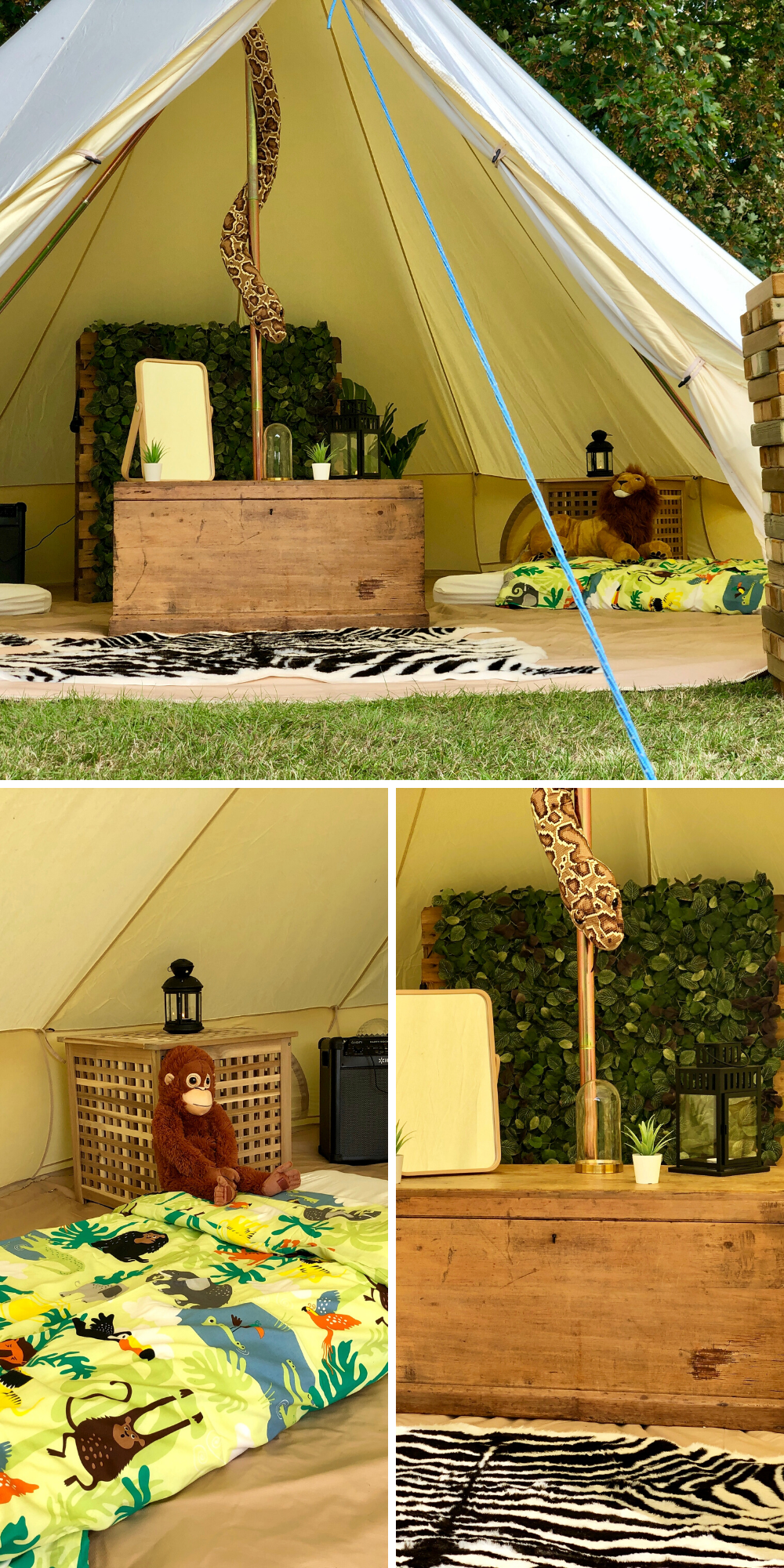 Party tents and events services