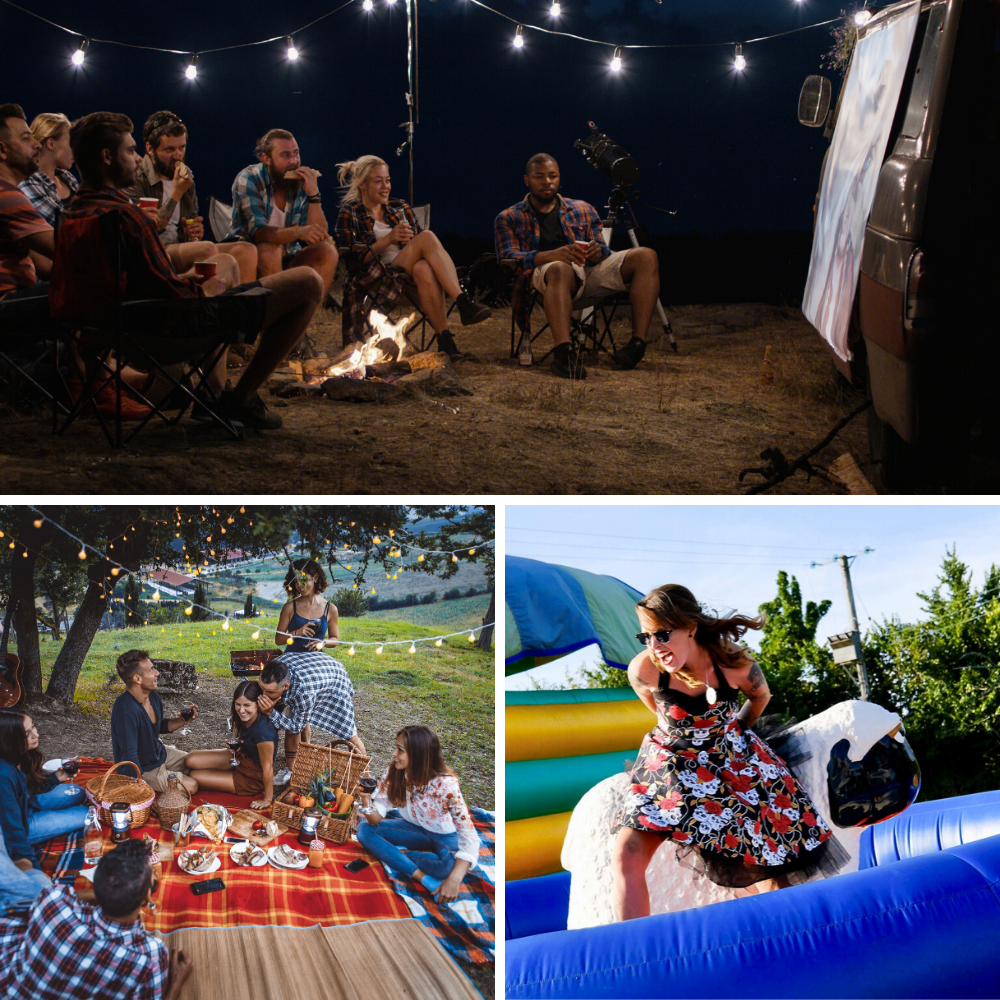 Party tents and events square
